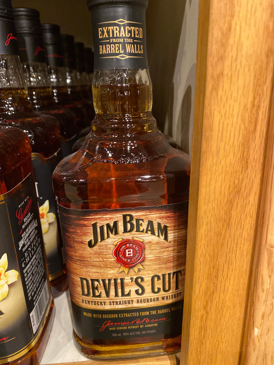 Jim Beam Devils Cut Bourbon, 750 ml