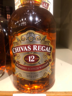 Chivas Regal 12 yr Scotch, 750 ml