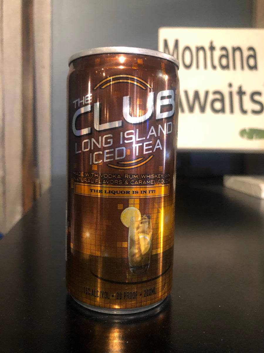 The Club, Long Island in a Can, RTD, 200 ml