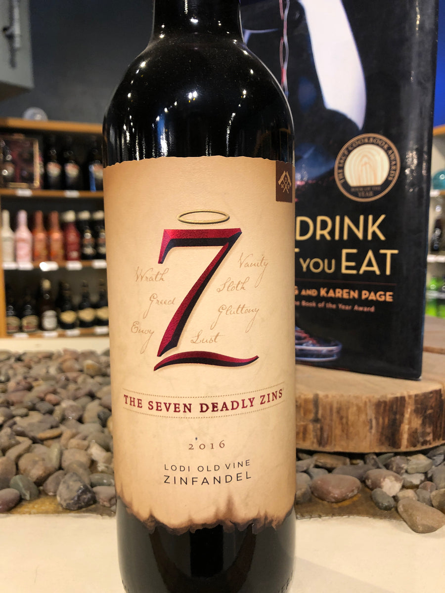 Seven Deadly Zins, Zinfandel, California