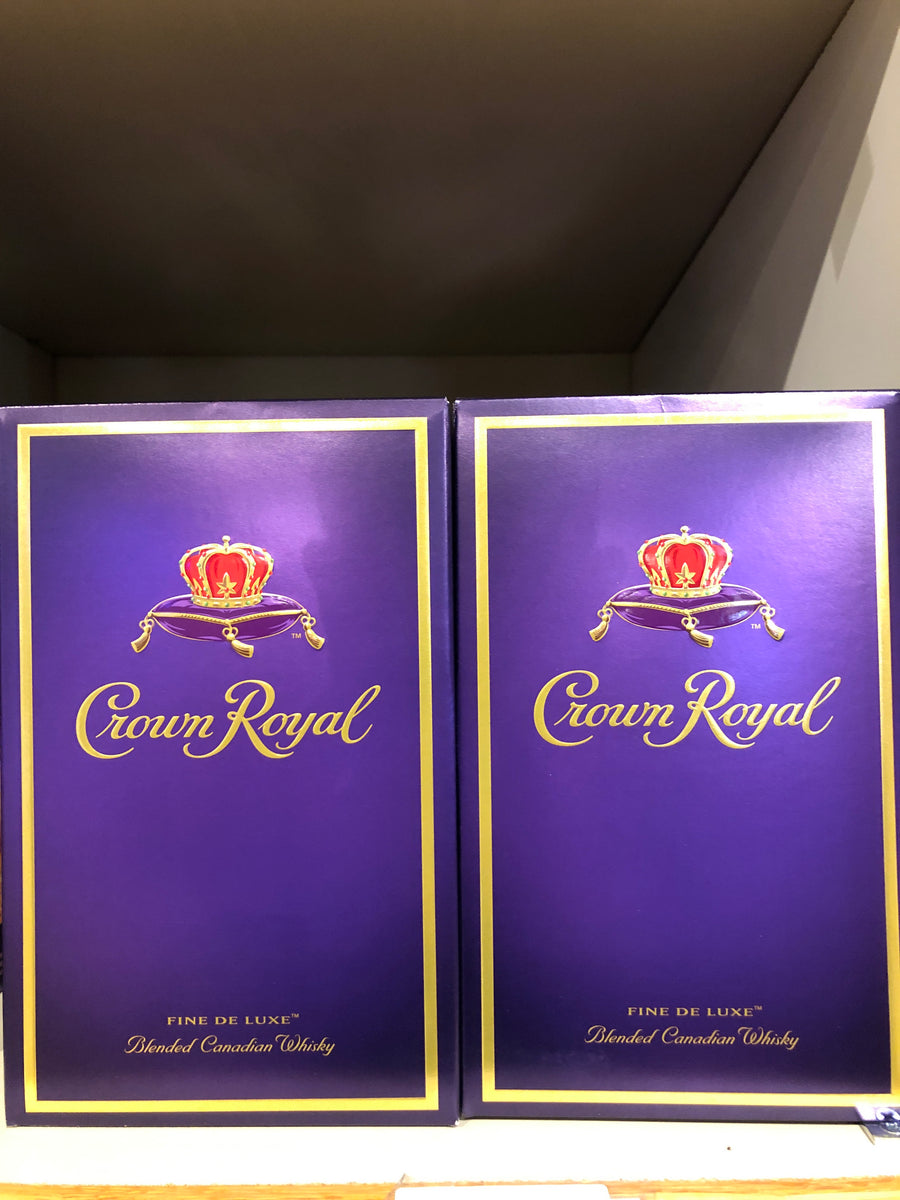 Crown Royal, Canadian Whisky, 750 ml