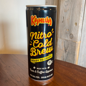 Kahlua , Nitro, Cold Brew, Rum, Coffee, Liqueur, RTD,200ml