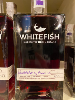Whitefish Huckleberry Reserve,  750 ml