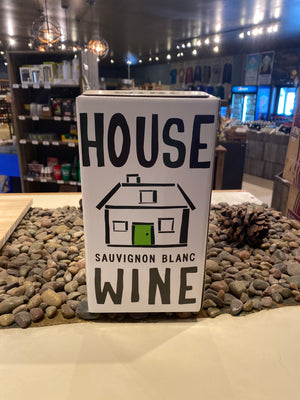 House Wine, Sauvignon Blanc, 3 liter box