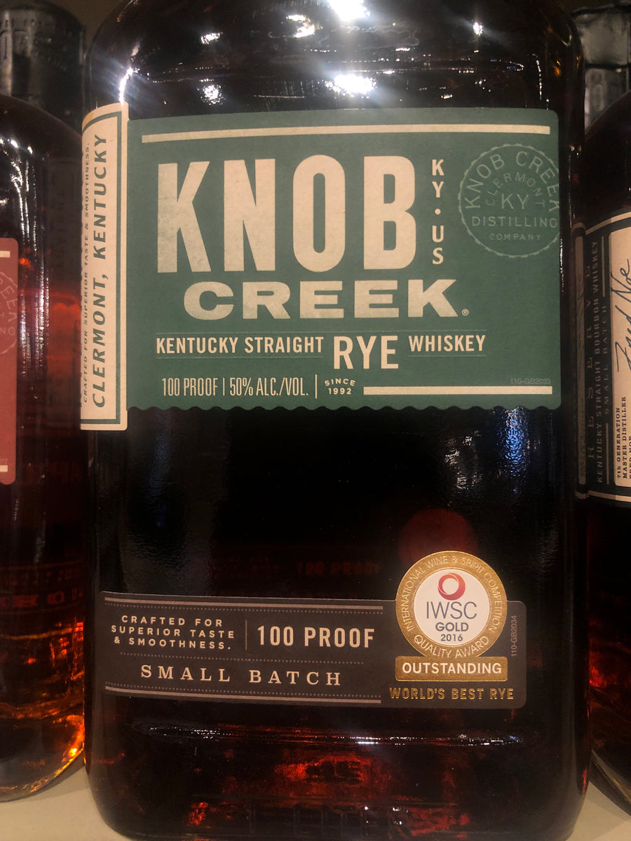 Knob Creek Rye Whiskey, 1 L