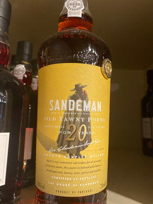 Sandeman Aged 20 years Old Tawny Port, 750 ml