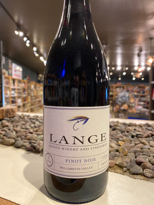 Lange, Pinot Noir, Willamette Valley, Oregon