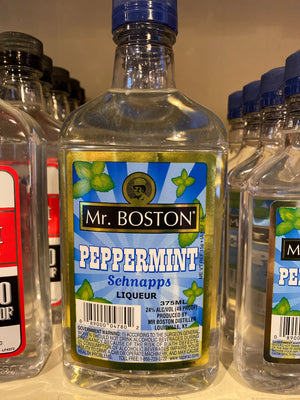 Mr. Boston Peppermint Schnapps, 375 ml