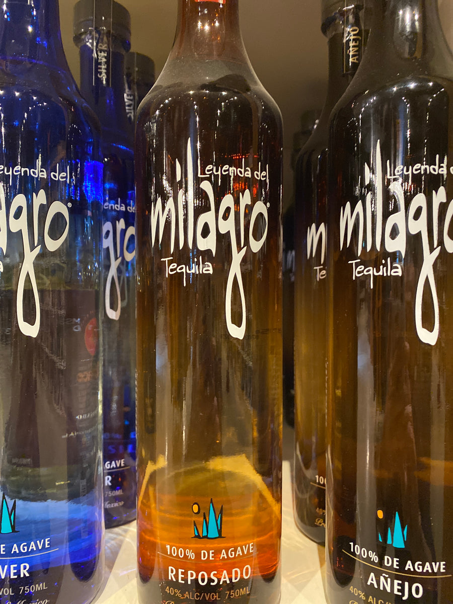 Milagro Reposado Tequila, 750 ml
