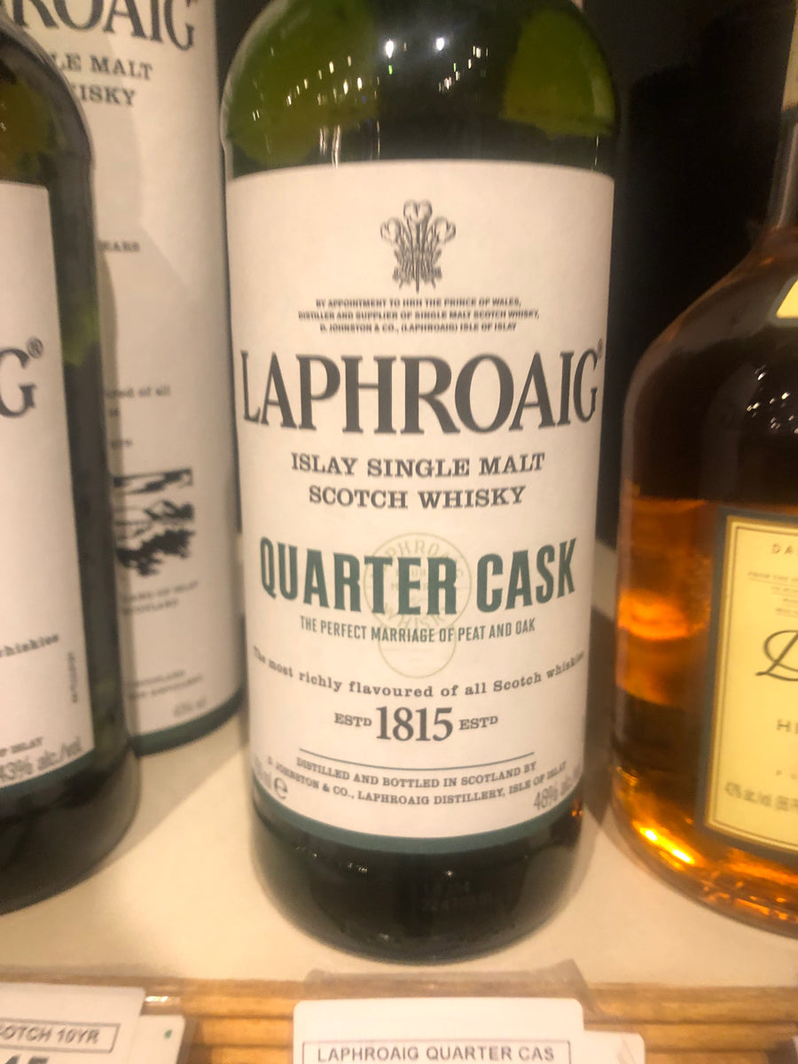 Laphroaig Quarter Cask Scotch, 750 ml