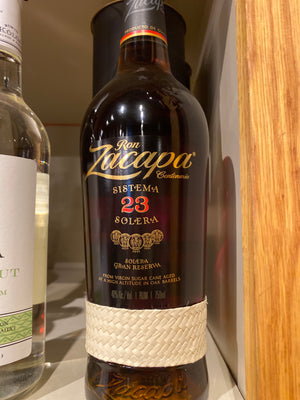 Ron Zacapa 23yr Dark Rum, 750 ml