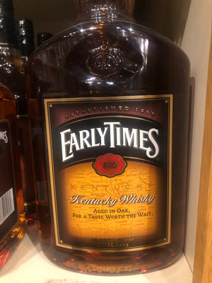 Early Times Bourbon, 1.75 L