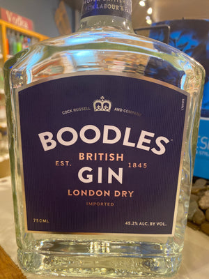 Boodles British Dry Gin, 750 ml