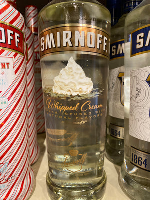 Smirnoff Vodka Whipped, 750 ml