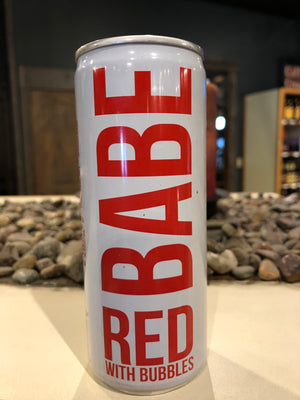 BABE, Sparkling Red Wine, RTD, 8.4 oz can