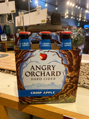 Angry Orchard, Hard Cider, Crisp Apple, Pack of 6