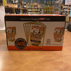 Ace Dry Joker Cider, 6 pk, 12 oz