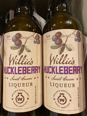 Willie's Huckleberry Cream Liqueur, 750 ml