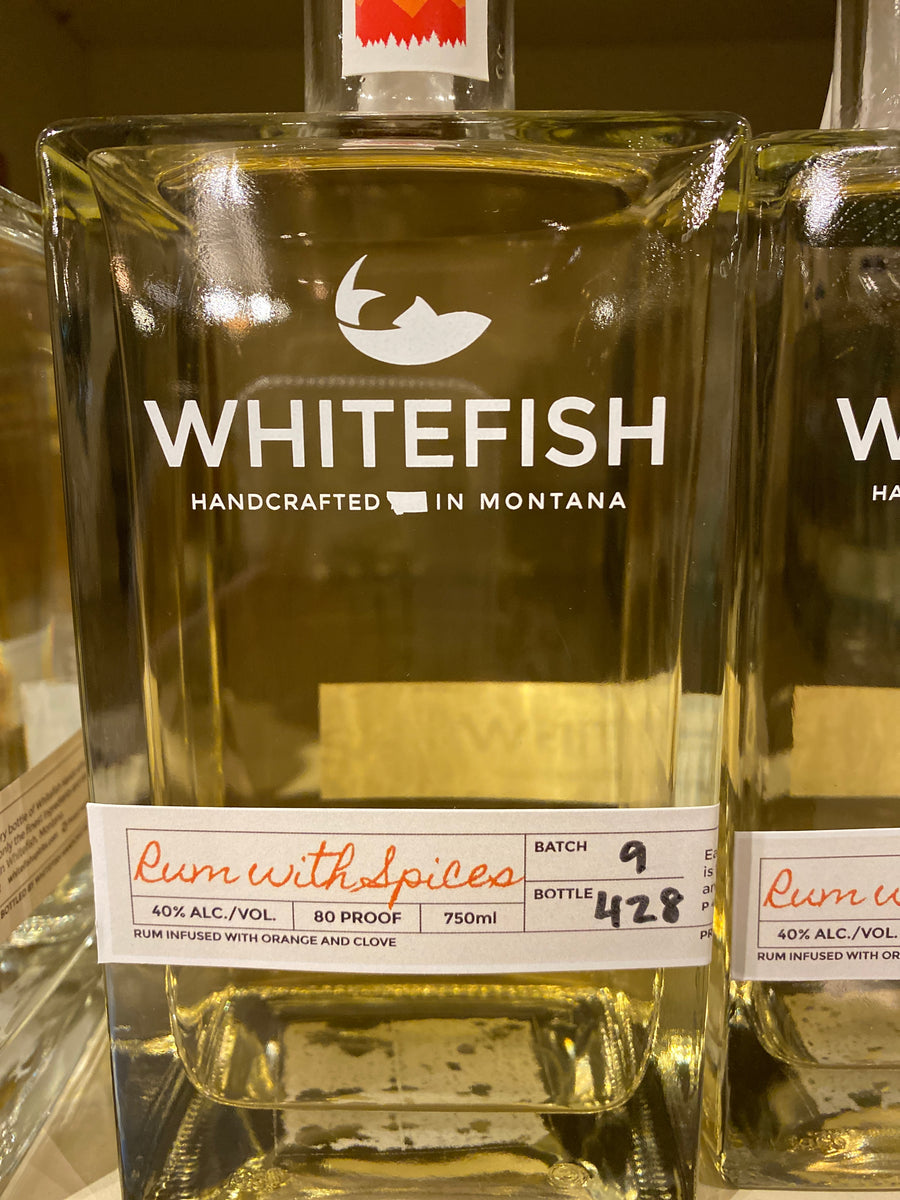 Whitefish Rum with Spices, 750 ml