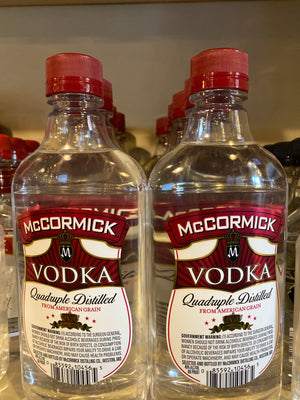 McCormick Vodka, 375 ml
