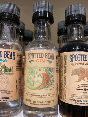Spotted Bear Gin, 50 ml