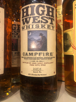 High West Campfire Bourbon, 750 ml