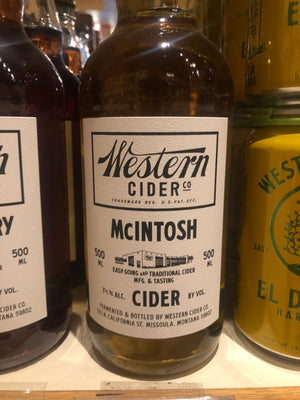 Western Cider McIntosh, 500ml