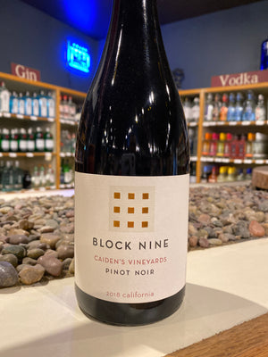 Block Nine, Pinot Noir, California