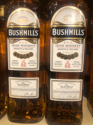 Bushmills Irish Whiskey, 1 L