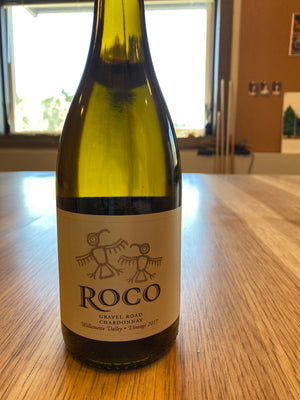 ROCO, Gravel Road, Chardonnay, Willamette Valley, 750mL