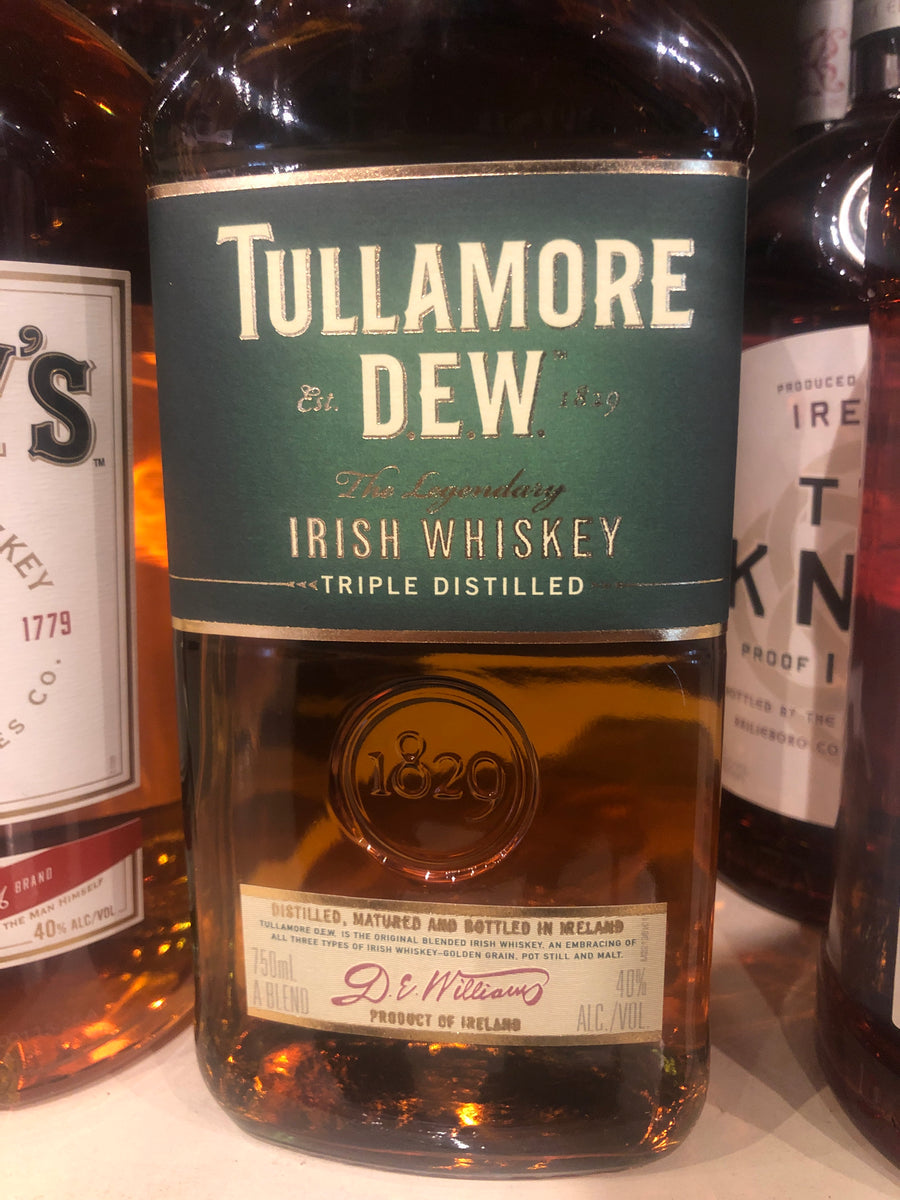Tullamore Dew Irish Whiskey, 750 ml