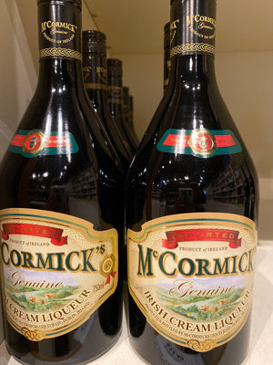 McCormick Irish Cream Liqueur, 750 ml