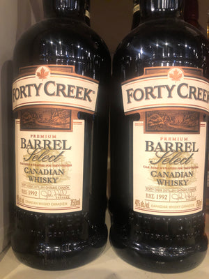 Forty Creek Barrel Select, Canadian Whisky, 750 ml