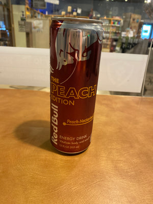 Red Bull, Peach Edition, Peach-Nectarine, 12oz can