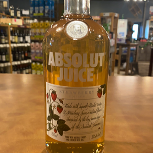 Absolut Juice, Strawberry Edition, 750ml
