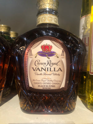 Crown Royal Vanilla, Canadian Whisky, 375 ml