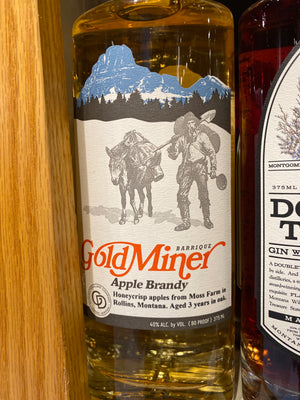 Gold Miner Apple Brandy, 375 ml
