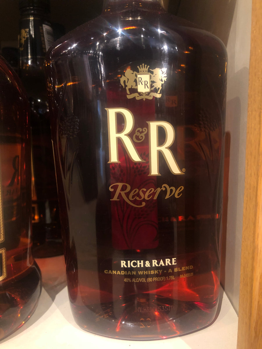 R & R Reserve, Canadian Whisky, 1.75 L