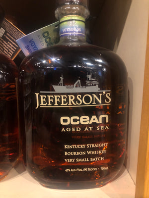 Jefferson's Ocean Age Bourbon, 750 ml