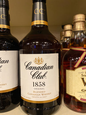 Canadian Club, Canadian Whisky, 1.75 L