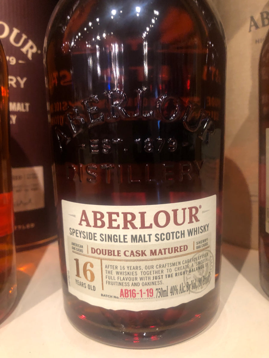Aberlour 16 yr Scotch, 750 ml