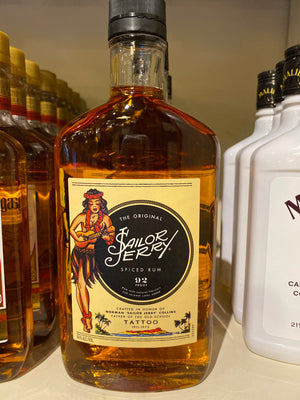 Sailor Jerry Spiced Rum, 375 ml