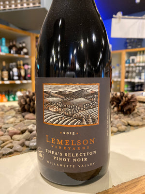 Lemelson, Pinot Noir, Thea's Selection, Willamette Valley, Oregon