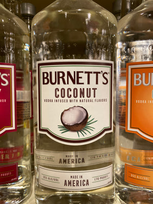 Burnetts Coconut Vodka, 750 ml