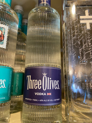 Three Olives Vodka, 750 ml