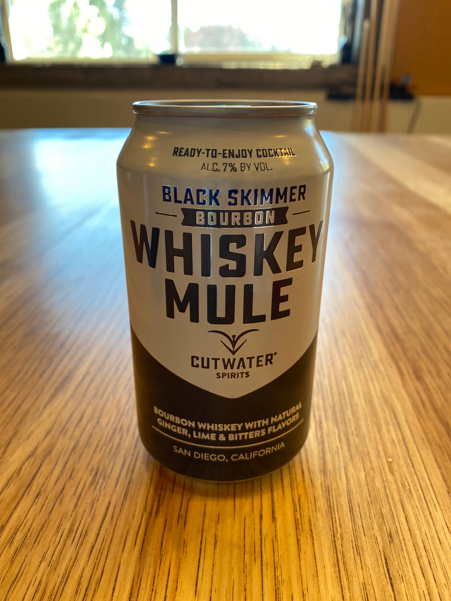 Cutwater, Whiskey Mule, Bourbon, RTD, 12oz can