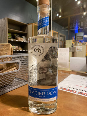 Glacier Distilling Glacier Dew Vodka, 375 ml
