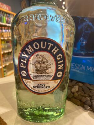 Plymouth Navy Strength Gin, 750 ml
