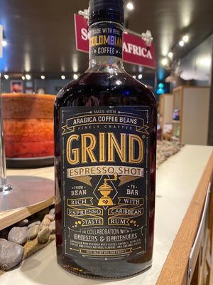 Grind Distilling, Grind Espresso Shot, Coffee Liquer, 750mL bottle