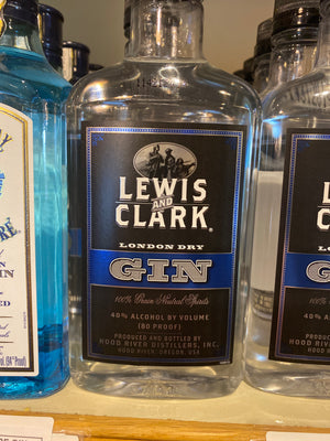 Lewis and Clark English Dry Gin, 375 ml
